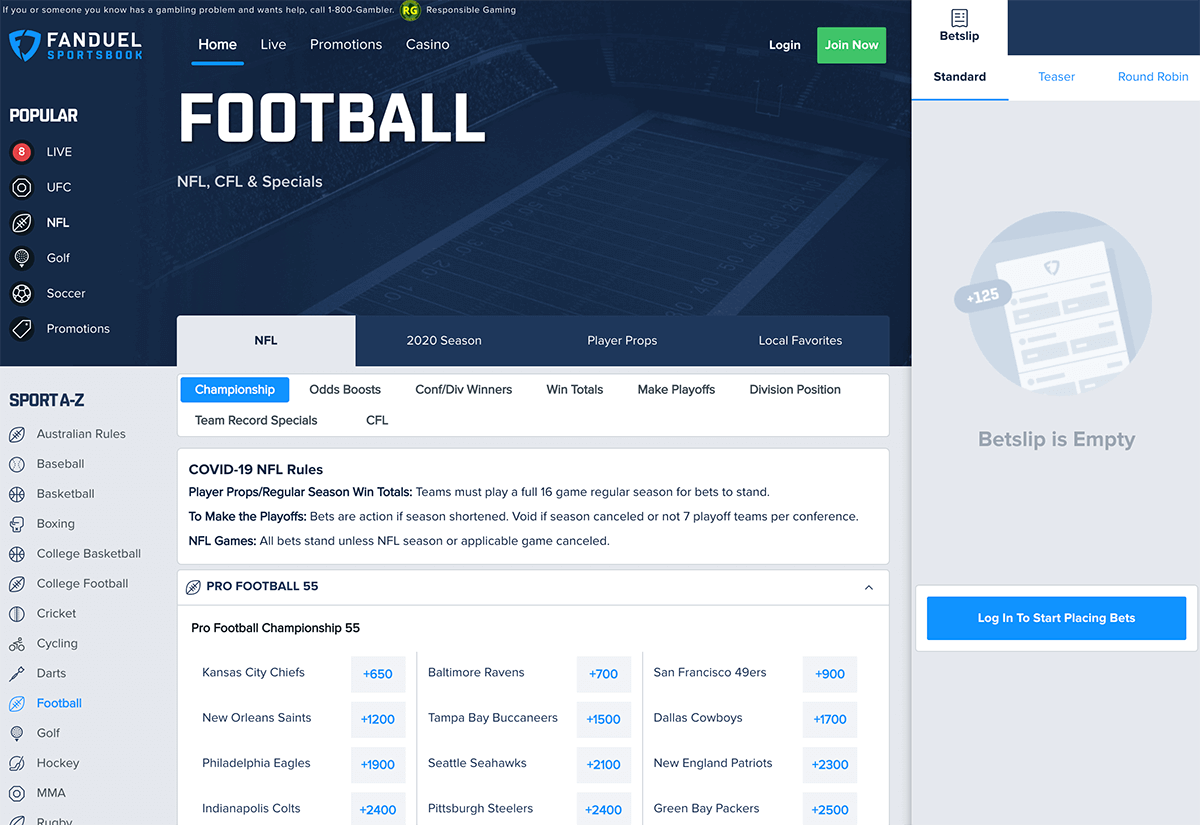 FanDuel Football