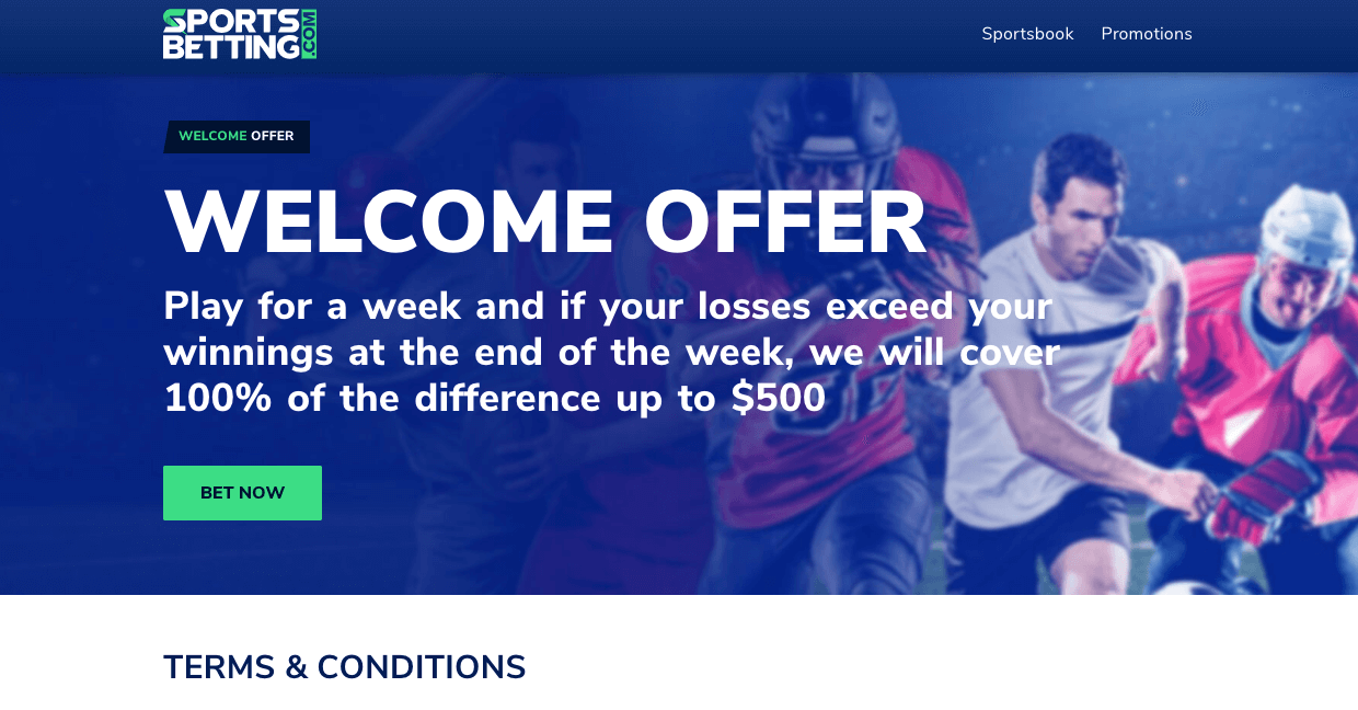 Sportsbetting.com Welcome Offer